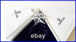 Swarovski 2000 Annual Christmas Snowflake / Star Ornament