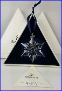 Swarovski 2000 Annual Edition Christmas Star Ornament EAN 23452 New & Mint