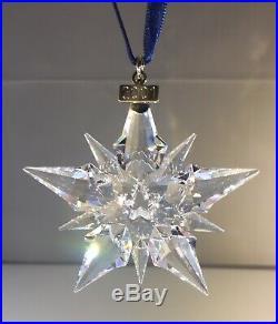 Swarovski 2001 Annual Christmas Snowflake / Star Ornament
