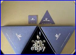 Swarovski 2004 Annual Edition Crystal Christmas Ornament