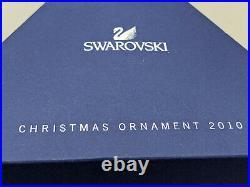 Swarovski 2010 Crystal Snowflake Star Annual Christmas Ornament withCertificate