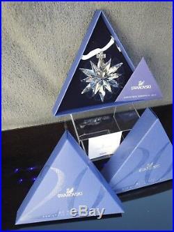 Swarovski 2011 Christmas Ornament Star 1092037 Mint Boxed + Certificate