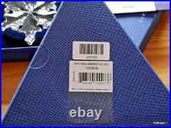 Swarovski 2012 A. E. Christmas Star Snowflake Ornament 1125019, Boxed, Cert