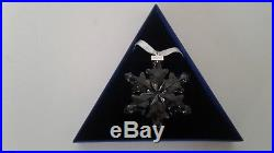 Swarovski 2012 Crystal Snowflake Christmas Ornament With Original Box