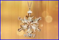 Swarovski 2012 Scs Christmas Ornament 1139970 Gold Mint Retired Boxed Rare