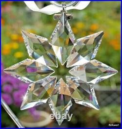 Swarovski 2013 A. E. Christmas Star Snowflake Ornament 5004489, Boxed, Cert