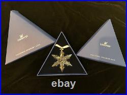 Swarovski 2015 Annual Edition Crystal Snowflake Star Christmas Ornament