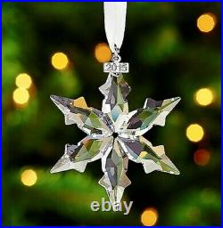 Swarovski 2015 LARGE Christmas Ornament Decoration Star Snowflake Perfect