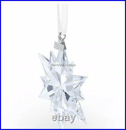 Swarovski 2017 Christmas Ornament Clear 5257589 Mint Boxed Retired Rare