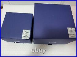 Swarovski 2019 AMUR SOFIA LEOPARD 5428541 & CUBS 5428542 withgloves & original box