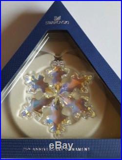 Swarovski 25th Anniversary Christmas Star Ornament. Extra Large. Art No 5258537