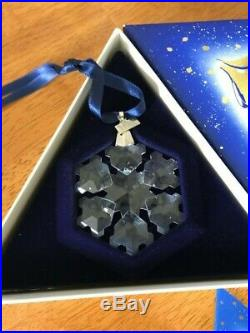 Swarovski Annual Christmas Ornament 1994 Crystal Snowflake Ornament MIB