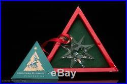 Swarovski Annual Edition 1991 Christmas Xmas Ornaments SCO1991 164937