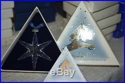 Swarovski Annual Edition 1993 Christmas Xmas Ornaments 174969