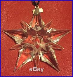 Swarovski Annual Edition 2001 Christmas Xmas Ornament Snowflake