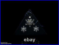 Swarovski Annual Edition 2004 Christmas Xmas Ornaments SET 682961
