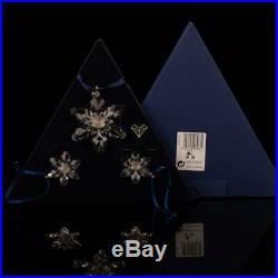 Swarovski Annual Edition 2008 Christmas Xmas Ornaments SET 946487