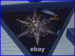 Swarovski Annual Edition Crystal Christmas Ornament 2005 680502 Rockefeller COA
