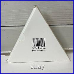 Swarovski Annual Snowflake 1997 Crystal Christmas Ornament Box Paper CHIP