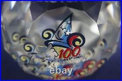 Swarovski Arribas Crystal Disney 100 Years Of Magic Paperweight Mib Ltd Ed