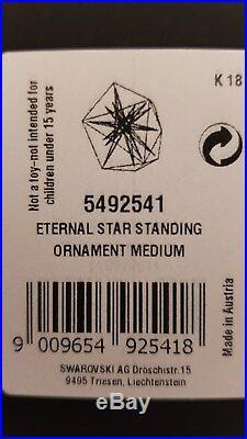 Swarovski Atelier, Eternal Star Standing Ornament Medium, Art No 5492541