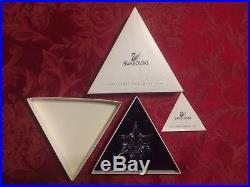 Swarovski Austrian Crystal 2000 Annual Christmas Holiday Snowflake Ornament MIB