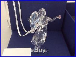 Swarovski Authentic Crystal Angel A. E Christmas Tree Ornament Decoration Lot108