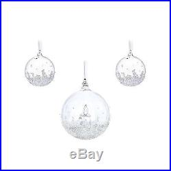 Swarovski Christmas Ball Ornament Set, Annual Edition 2017 5268012