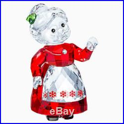 Swarovski Christmas Figurine Color Crystal MRS. CLAUS -5464887 New