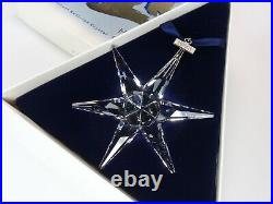 Swarovski Christmas Ornament 1993 Mib #174969