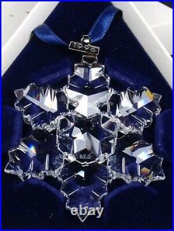 Swarovski Christmas Ornament 1996 Mib #199734