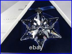 Swarovski Christmas Ornament 2000 Mib #243452