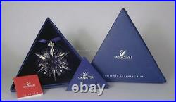 Swarovski Christmas Ornament 2002 288802 Mint Boxed Retired Rare