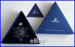 Swarovski Christmas Ornament 2004 Clear 631562 Mint Boxed Retired Rare