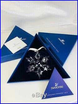 Swarovski Christmas Ornament 2010 Mib #1041301