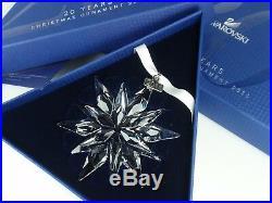 Swarovski Christmas Ornament 2011 Mib #1092037
