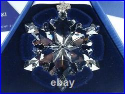 Swarovski Christmas Ornament 2012 Mib #1125019