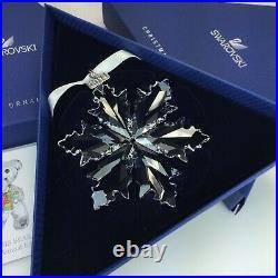 Swarovski Christmas Ornament 2014 Mib #5059026