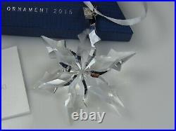 Swarovski Christmas Ornament 2015 Mib #5099840