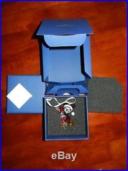 Swarovski Christmas Ornament Crystal Disney Mickey Mouse figurine No 5135938