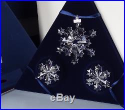 Swarovski Christmas Ornament Set 2004 Annual Edition 682961 MIB