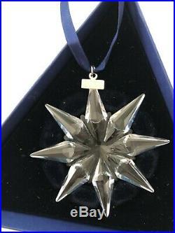 Swarovski Christmas Ornaments 2008, 2009, 2012, 2014, 2015, 2017