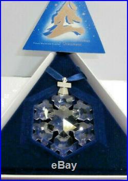 Swarovski Christmas Snowflake Annual Edition 181632 Mint In Box