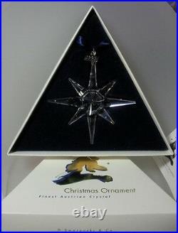 Swarovski Christmas Star 1995 Annual Edition 191635 New & Mint In Box