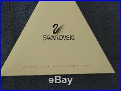 Swarovski Christmas Star 1998, boxed with genuine certificate