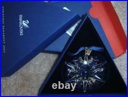 Swarovski Christmas Star 2002 New 288802 Annual Edition Mint In Box