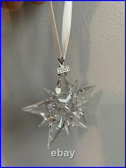 Swarovski Christmas Star Annual Ornament 2001