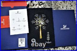 Swarovski Christmas Tree Topper Crystal Gold 9443 000 017 632785 MIB