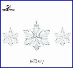 Swarovski Christmas Trio Decoration Set 2014 #5059030