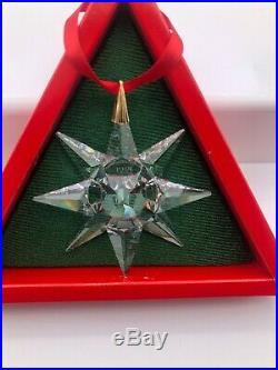 Swarovski Christmas ornament 1991 MIB RARE